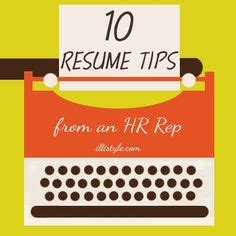11 Things You Should Never Put On Your Resume Business